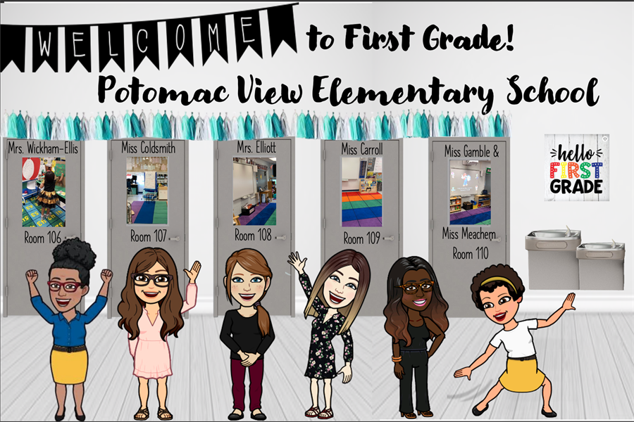 illustration of the 1st grade teachers